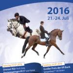 Plakat Turnier Hilgershof 2016
