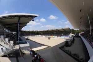 Das Dressurstadion in der Soers. © CHIO Aachen/Michael Strauch